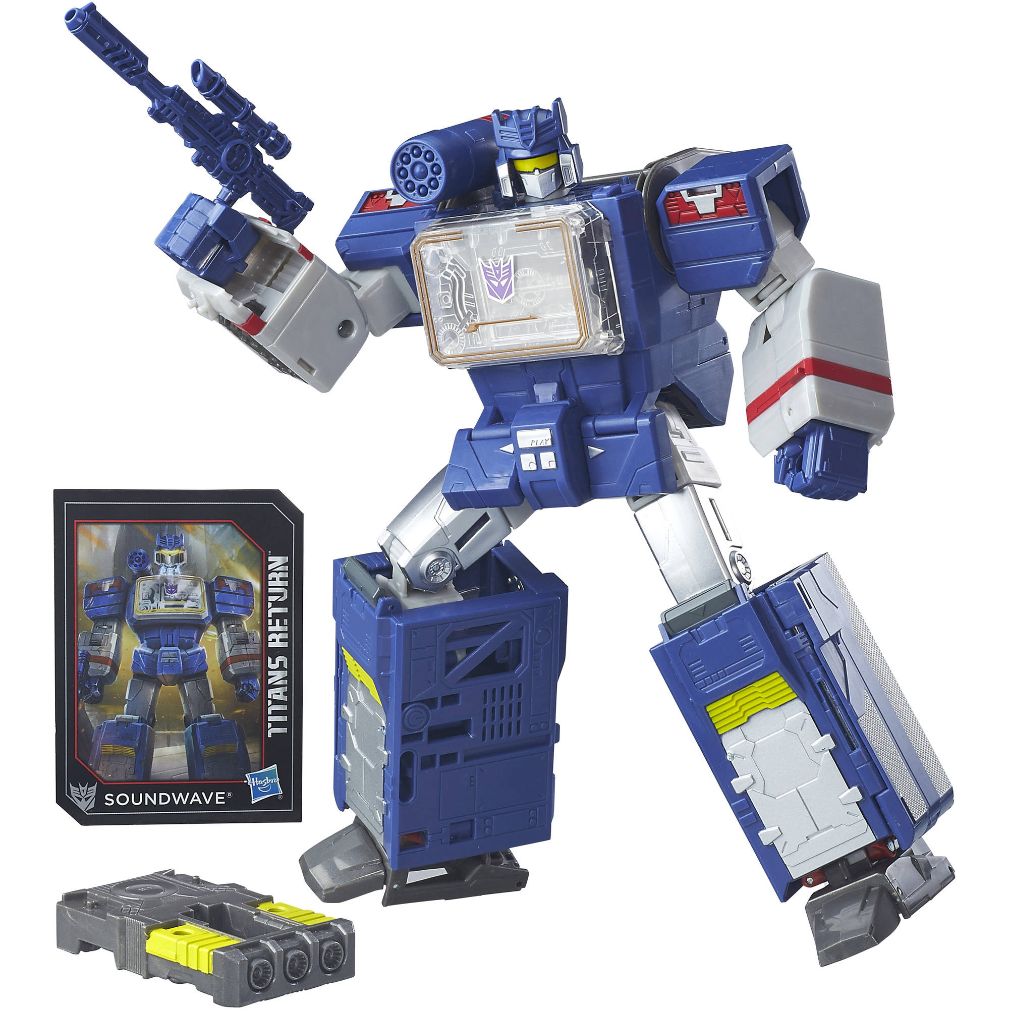 Transformers Generations Titans Return Soundwave and Soundblaster by Hasbro