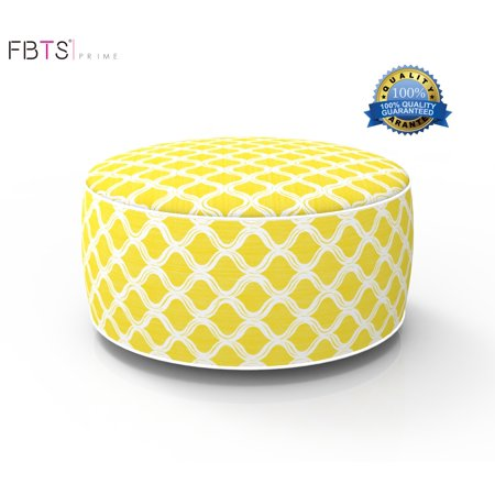 Inflatable Stool Ottoman Portable Travel Folding Seat Bean