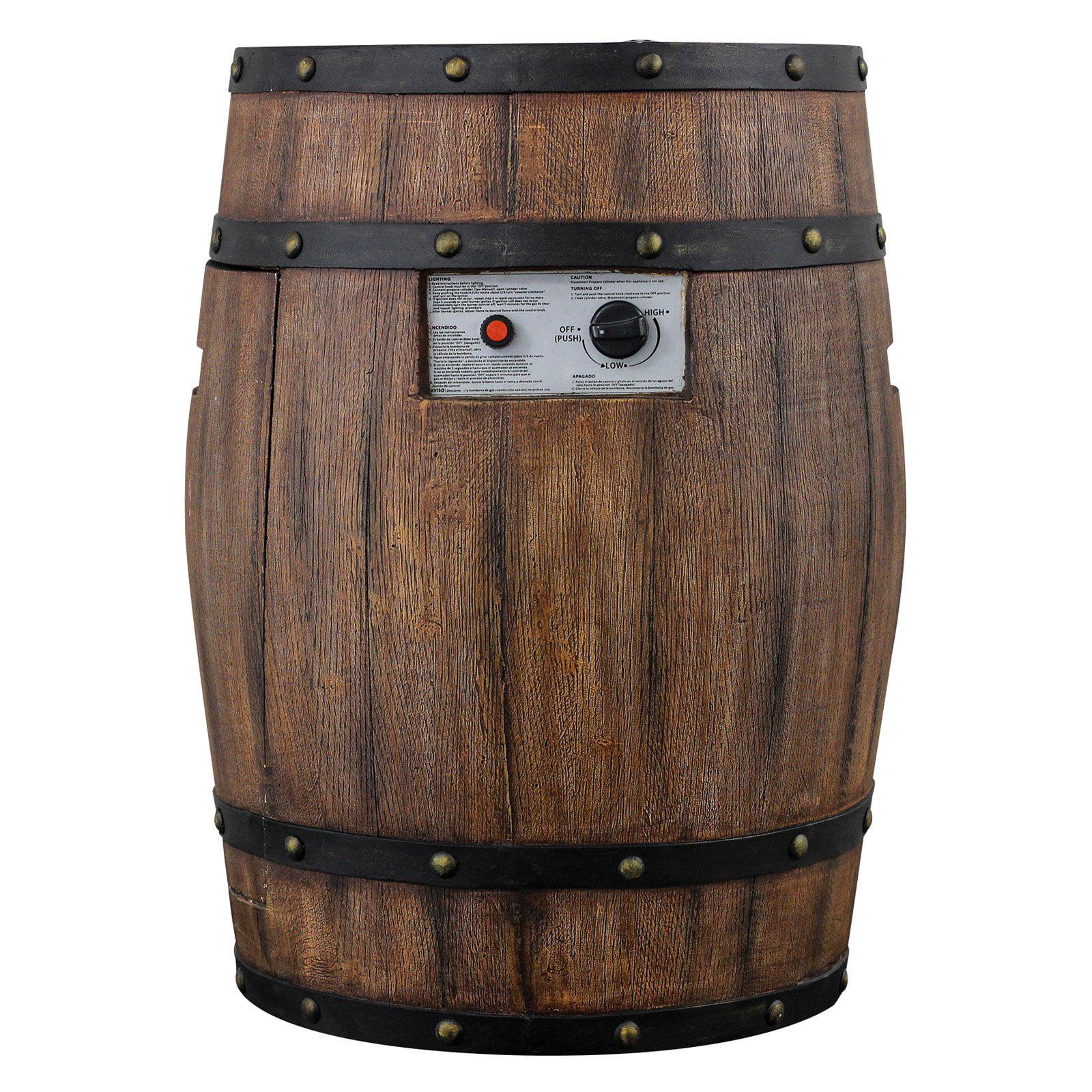HomComfort Gas Whiskey Barrel Patio Heater by HomComfort