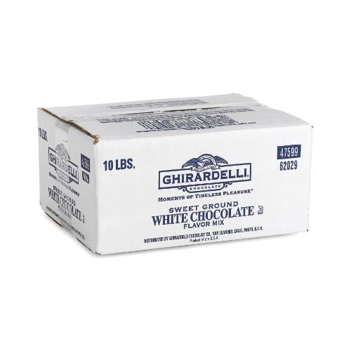 Ghirardelli Sweet Ground White Chocolate 10lb by Ghirardelli