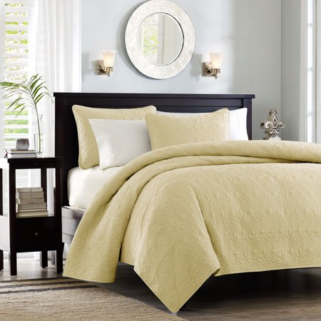 Yellow Vancouver Coverlet Set King 3pc