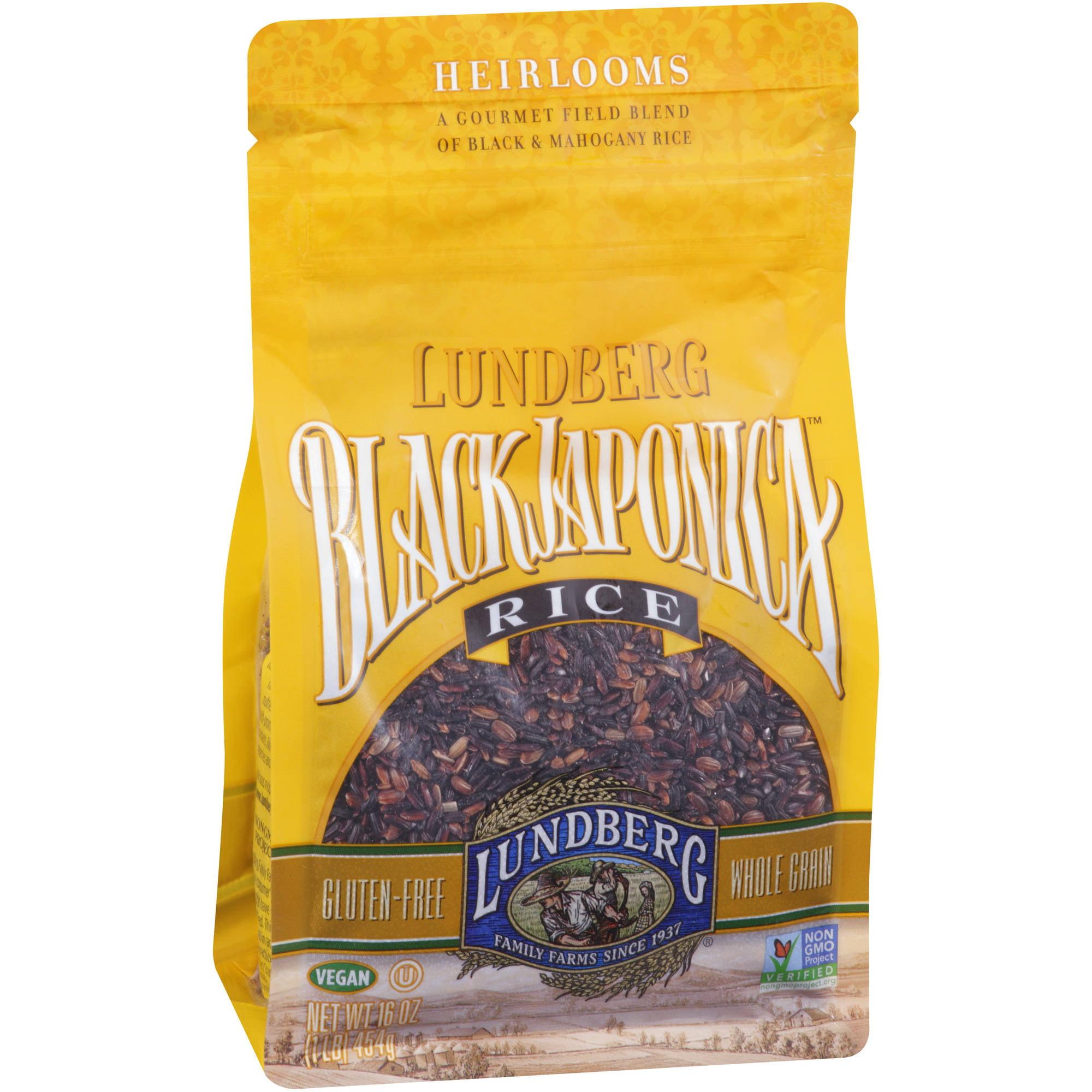 Lundberg Family Farms Black Japonica Rice, 16 oz (Pack of 6)