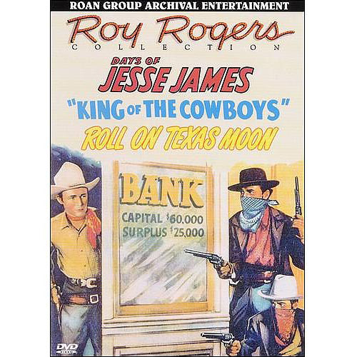 Roy Rogers Collection: Days Of Jesse James / King Of The Cowboys / Roll On Texas Moon