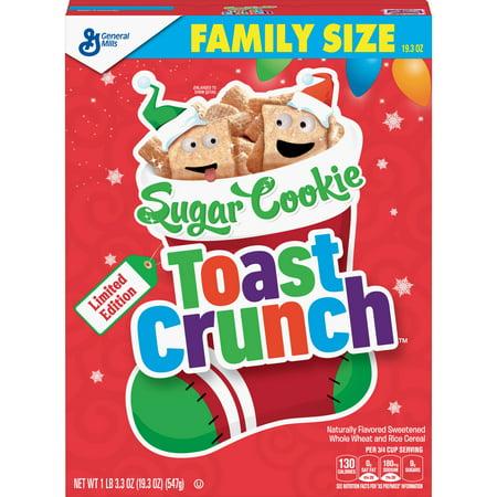 Sugar Cookie Toast Crunch Cereal, 19.3 OZ