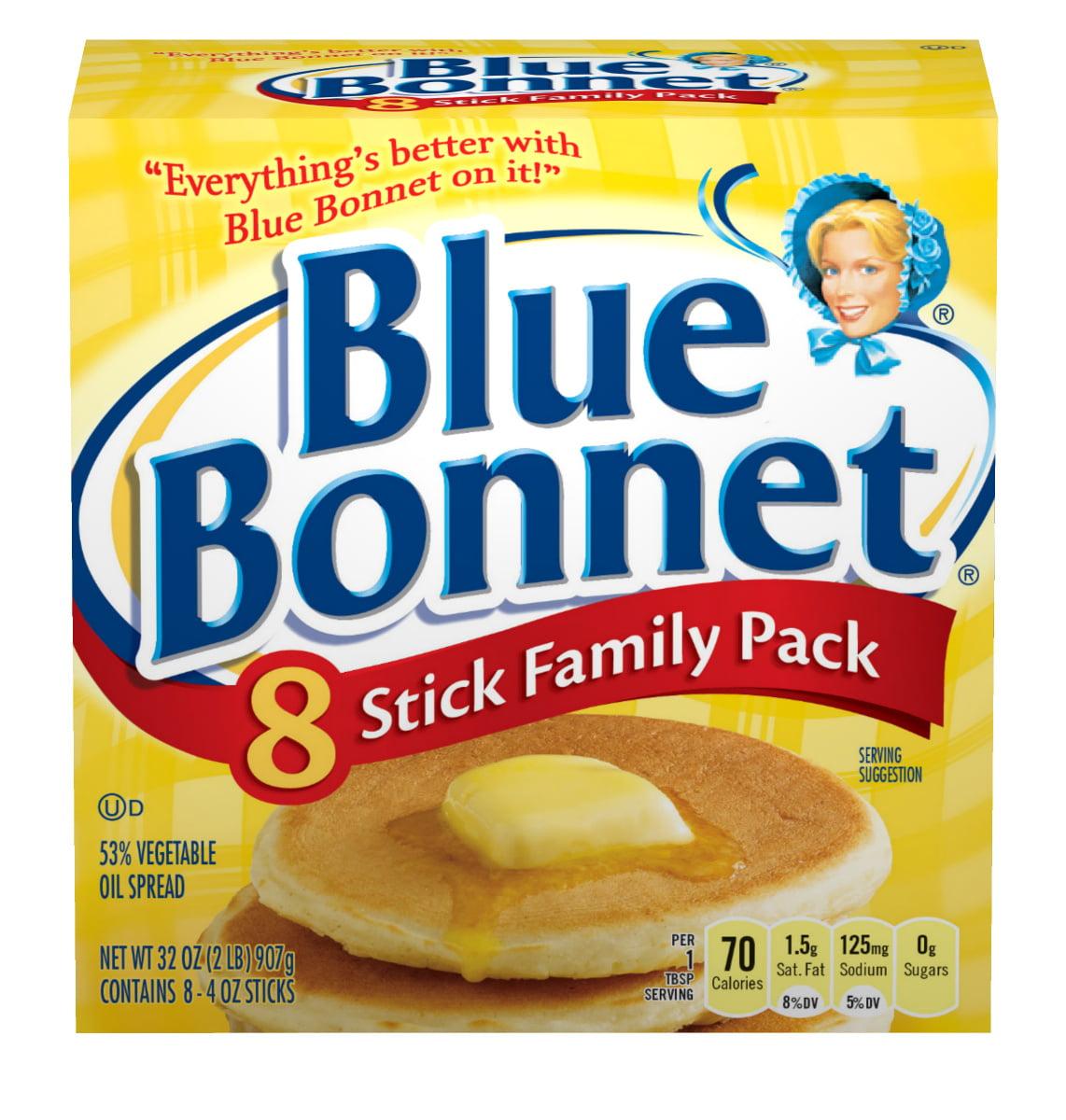Blue Bonnet Vegetable Oil Spread Family Pack 8 Sticks 2
