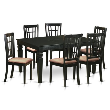 piece table and chair set for 6 dining room table and 6 dinette chairs