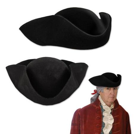 (Pack of 6) Beistle Felt Tricorn Hat