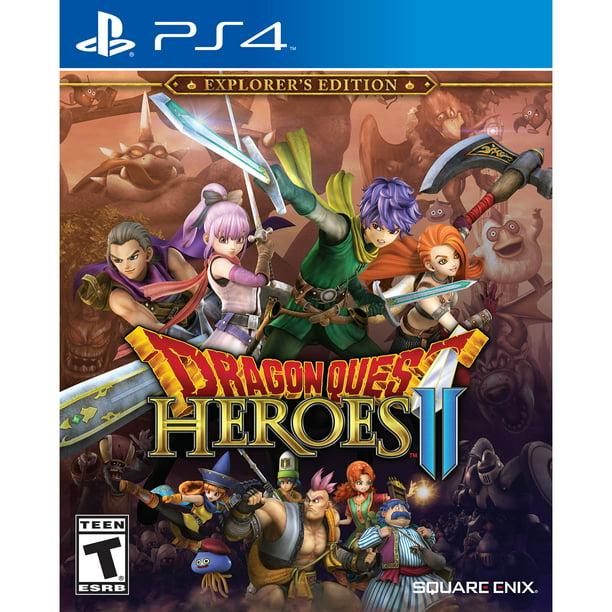 Dragon Quest Heroes Ii Explorer S Edition Ps4 Walmart Com