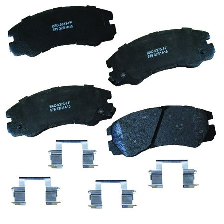 Go-Parts OE Replacement for 1992-2002 Isuzu Trooper Front Disc Brake Pad Set for Isuzu Trooper