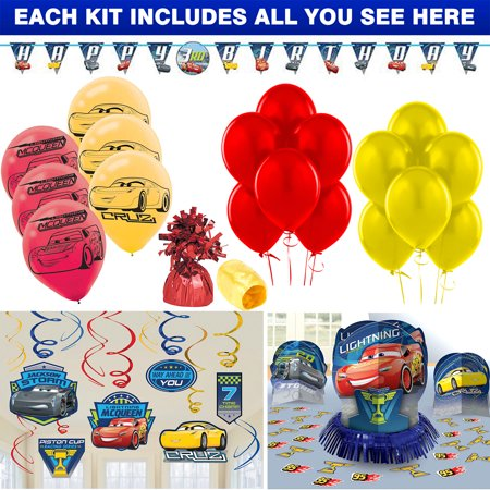 Disney Cars Decoration Kit](Disney Cars Decorations)
