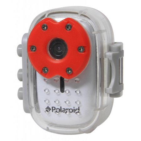 Polaroid XS10 HD 720p Micro Waterproof Sports Action Camera , Mounting Kit Included (Discontinued by Manufacturer) (Polaroid Sports Camera)