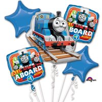 Thomas & Friends All Aboard Character Authentic Licensed Theme Foil Balloon Bouquet