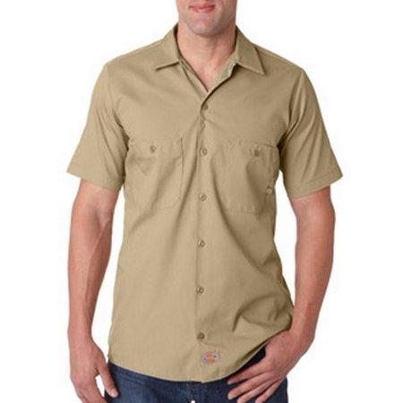 3c9e96ec496 Dickies Mens 4.25 oz. Industrial Short-Sleeve Work Shirt - image 1 of 1 ...