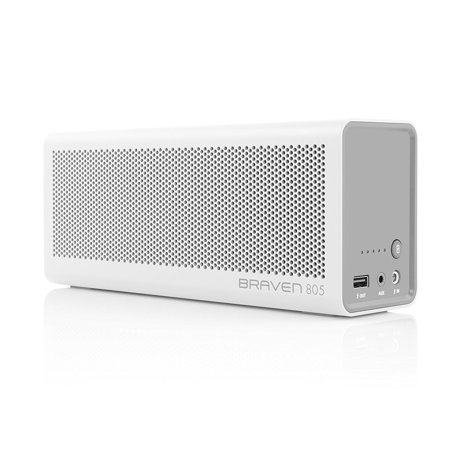 Refurbished Braven 805 Portable Wireless Bluetooth Speaker with Built-In Power Bank