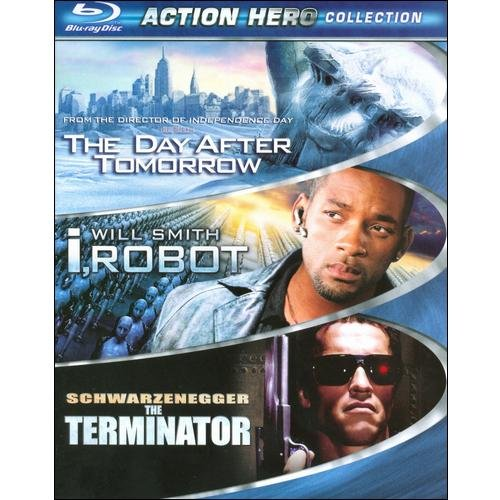 Action Hero Collection: The Day After Tomorrow / I, Robot / The Terminator (Blu-ray) (Widescreen)