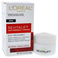 Revitalift Anti-Wrinkle and Firming Eye Treatment by LOreal Paris for Unisex - 0.5 oz Eye C