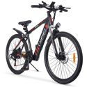Campmoy Electric Mountain Bike with LCD Display