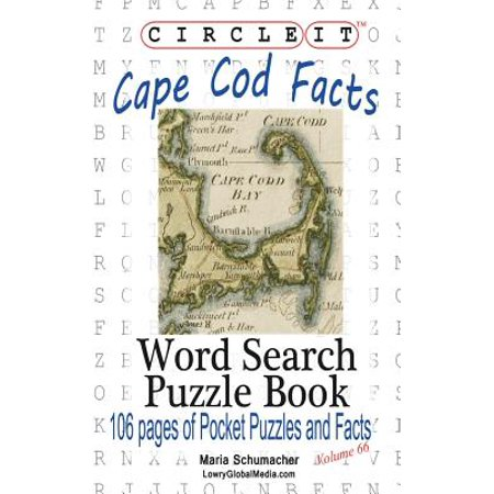 Circle It, Cape Cod Facts, Word Search, Puzzle - Cape Cod Halloween Events