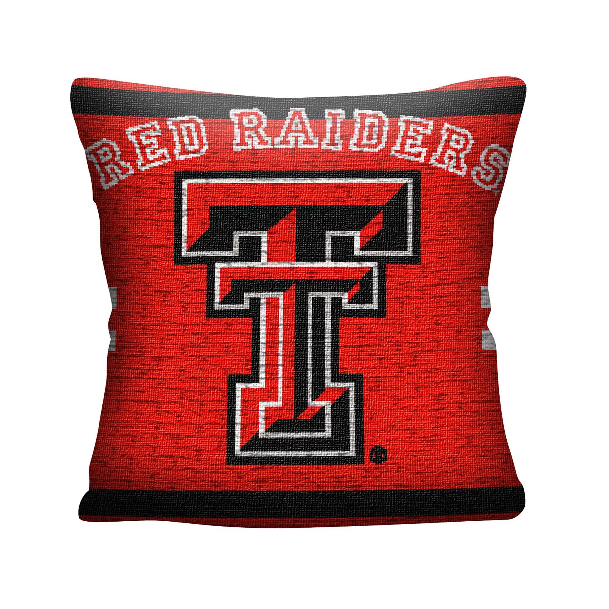 """NCAA Texas Tech University 20"""" Square Decorative Woven Pillow by The Northwest Company"""