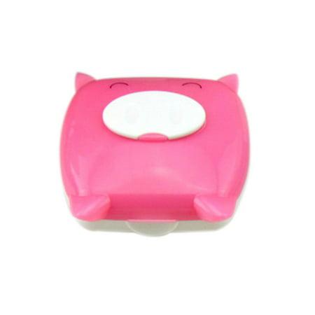 Cute Pig Cartoon Contact Lens Case Companion Box Contact Lenses Box](Halloween Contact Lenses For Sale)