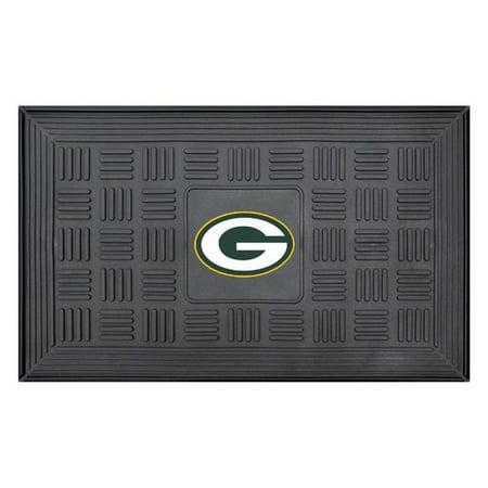 Green Bay Packers Floor Mat - FanMats NFL Green Bay Packers Medallion Door Mat