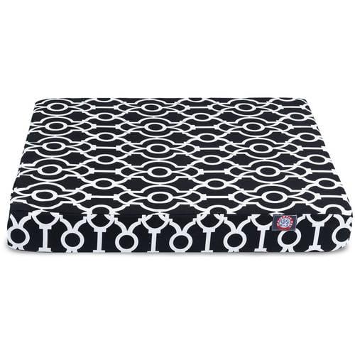Athens Medium Orthopedic Memory Foam Rectangle Dog Bed