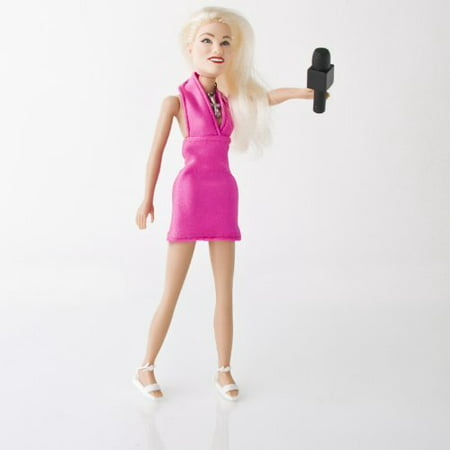 Female Ring Announcer for WWE Wrestling Action Figures with Microphone ()