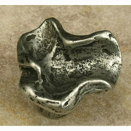Clayforms knob B Set of 10 Black with Terra Cotta