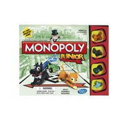 Monopoly Junior Game, Quick & Simple Gameplay, for Ages 5 and Up