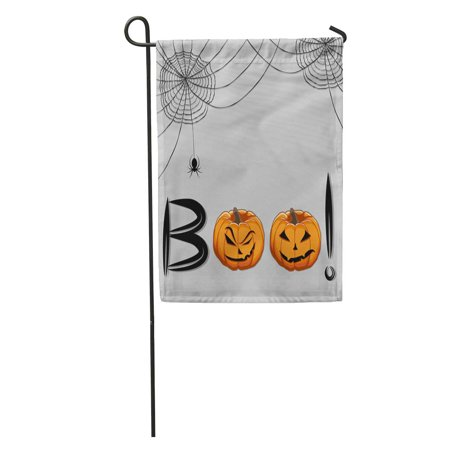 Celebrating Halloween (KDAGR Abstract of for Celebrating Children Holiday Halloween Boo Pumpkin Pattern Garden Flag Decorative Flag House Banner 28x40)