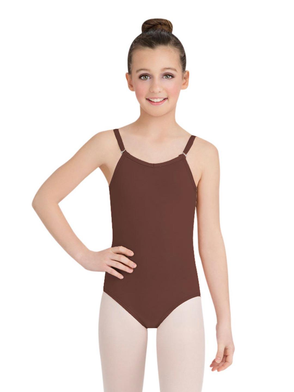 Camisole Leotard w/ Adjustable Straps - Girls