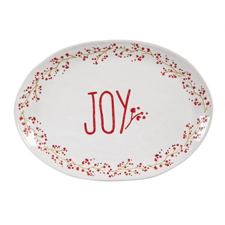 Holiday Farmhouse, Cereamic Platter