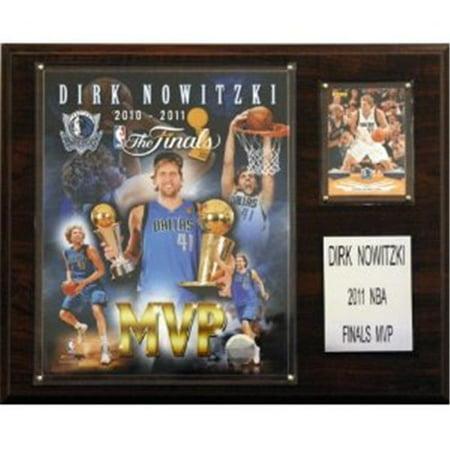 C & I Collectibles 1215DIRKMVP NBA Dirk Nowitzki Dallas Mavericks 2011 NBA Finals MVP Plaque - image 1 de 1
