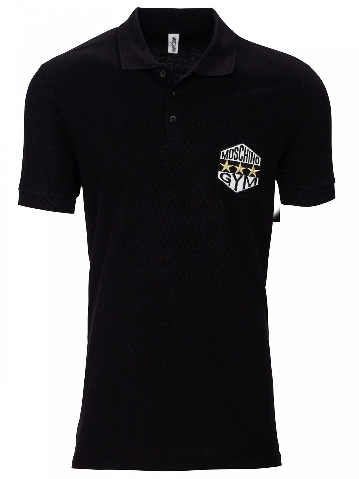 MOSCHINO Swim Mens Gym Polo Shirt
