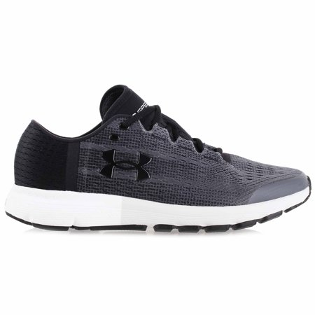 Under Armour Men's SpeedForm Velociti Running Shoes Rhino Gray/Black 8