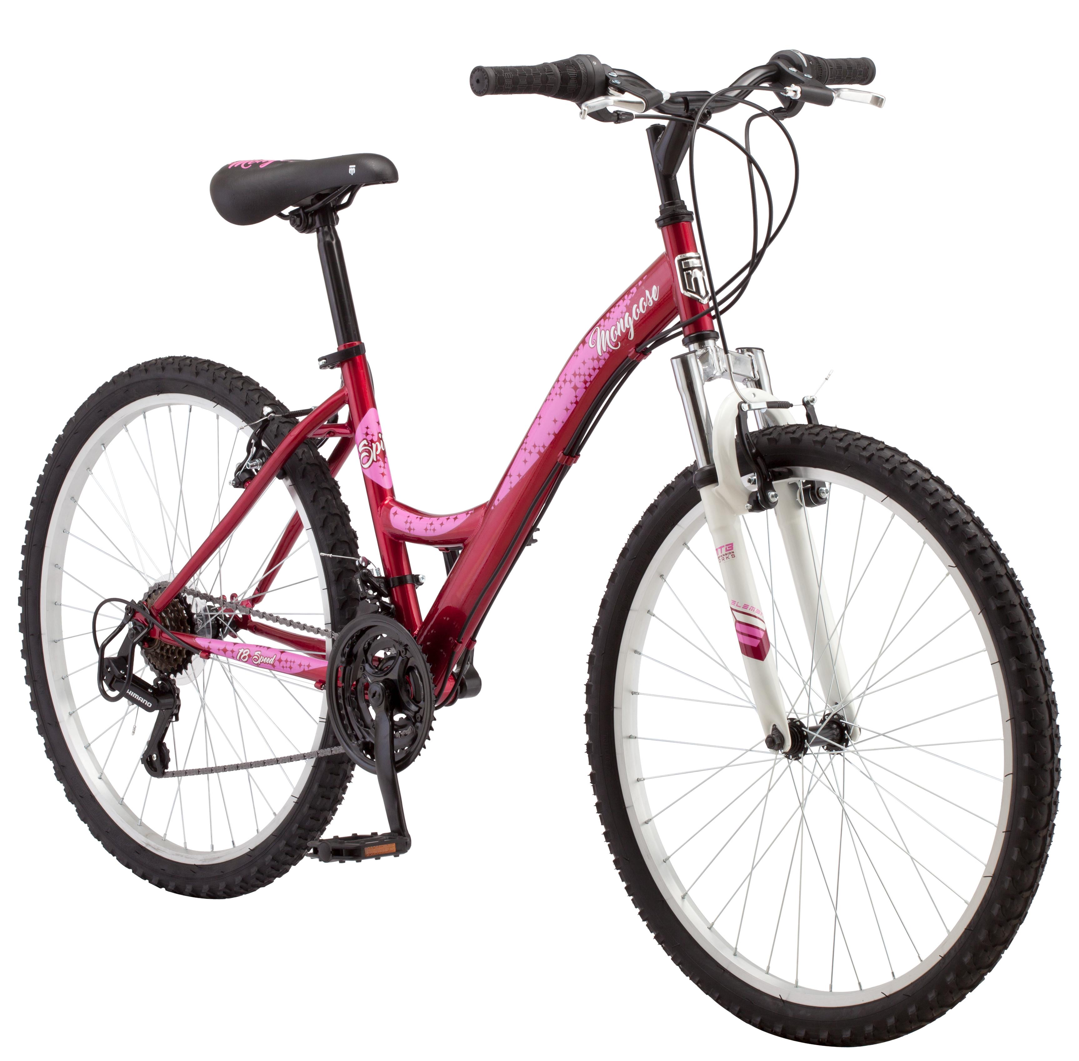 "26"" Mongoose Spire Ladies Bike, Rose"
