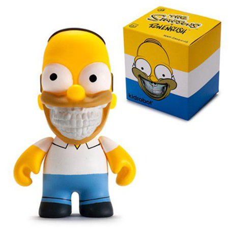 The Simpsons Kidrobot x Ron English Homer Grin 3
