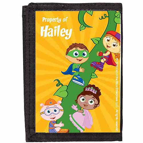 Personalized Super Why! Let's Read! Wallet