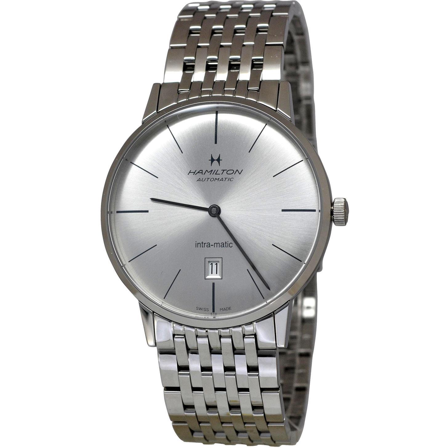 Hamilton Intra-Matic Ultra-Slim Mens Watch H38755151 by Hamilton