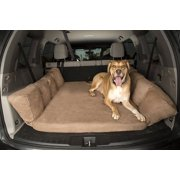 Backseat Barker: SUV Edition (Orthopedic Shock-Absorbing Big Barker Dog Bed for Back of Sport Utility Vehicles)