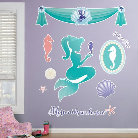 Under The Sea Quotes (Mermaids Under the Sea Giant Wall)