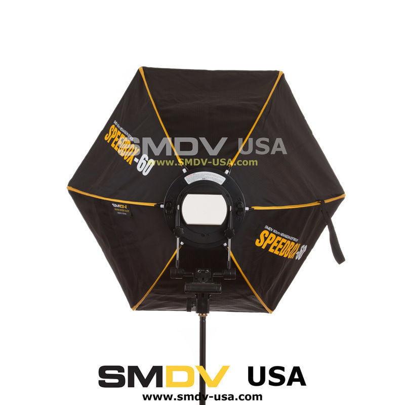 """NEW SMDV Softbox Hexagon Diffuser 60 23/"""" for Speedlight Speedlite Quantum Flash"""