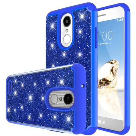buy popular 18e70 58c80 LG Zone 4 Case,LG ARISTO 2, LG Tribute Dynasty SP200,LG Fortune 2,LG Risio  3,LG K8 (2018) Case, waterproof Glitter Hard Slim for Girls Women wallet ...