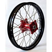 Talon Complete Wheel Assembly Front D.I.D. Dirtstar Rim 1.60 x 21 Red/Black Fits 02-07 Honda CR250R