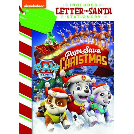Pups Save Christmas.Paw Patrol Pups Save Christmas Dvd Letter To Santa Stationary