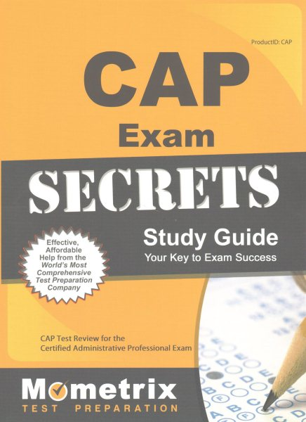 cap exam secrets study guide cap test review for the certified rh walmart com Certified Professional Secretary Examination Certified Administrative Professional Study Material