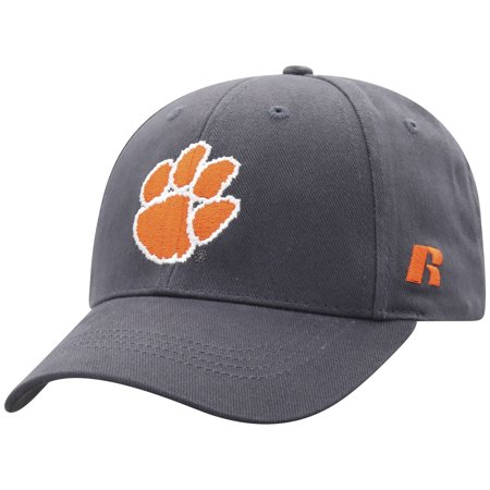 Men's Russell Charcoal Clemson Tigers Endless Adjustable Hat - OSFA