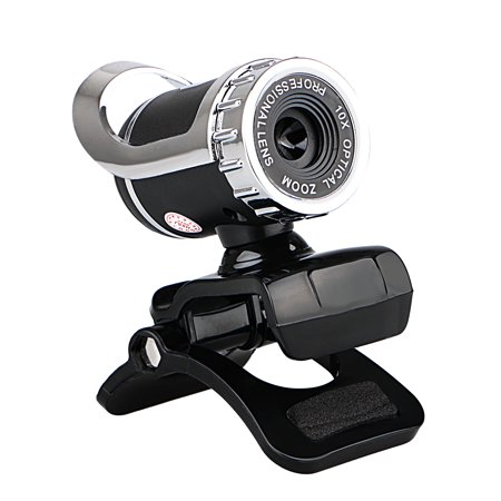 TSV USB 2.0 12 Megapixel HD Camera Web Cam with MIC Clip-on 360 Degree for Desktop Skype Computer PC