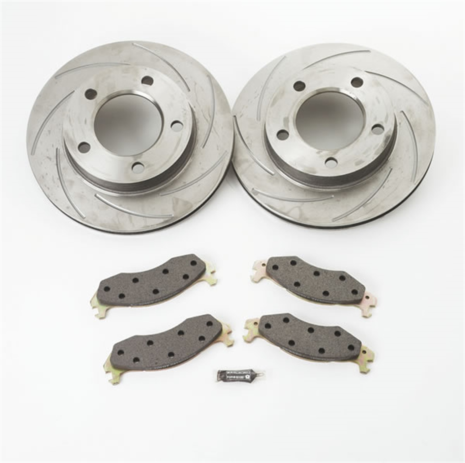 SSBC Performance Brakes A2351009 Turbo Slotted Rotors Fits 88-92 K1500 Pickup