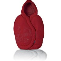 maxi-cosi infant car seat footmuff, intense red